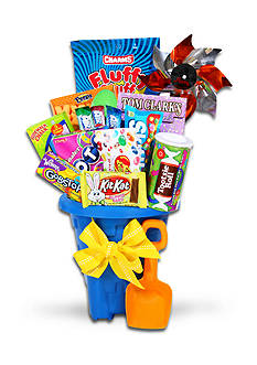 The Gifting Group Jumbo Easter Treats Sand Pail Gift Basket
