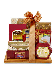 The Gifting Group Burgundy & Gold Cutting Board