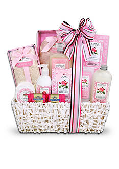 The Gifting Group 12 Roses Spa Basket