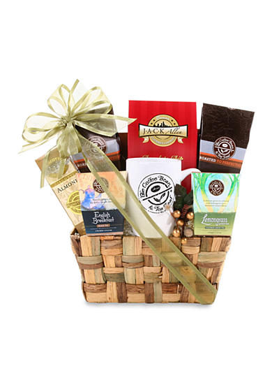 The Gifting Group Coffee Bean & Tea Leaf Weave Basket