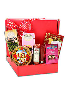 The Gifting Group Valentine's Gourmet Meat & Cheese Box