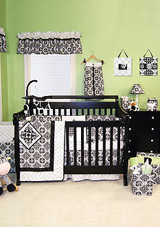 Trend Lab® Versailles Black and White Baby Bedding Coordinates