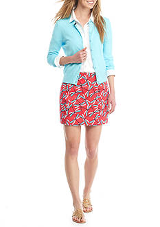 Crown and Ivy Dragonfly Skort and Cardigan Sweater