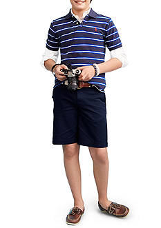 Ralph Lauren Childrenswear Striped Polo, Oxford and Prospect Shorts Boys 8-20