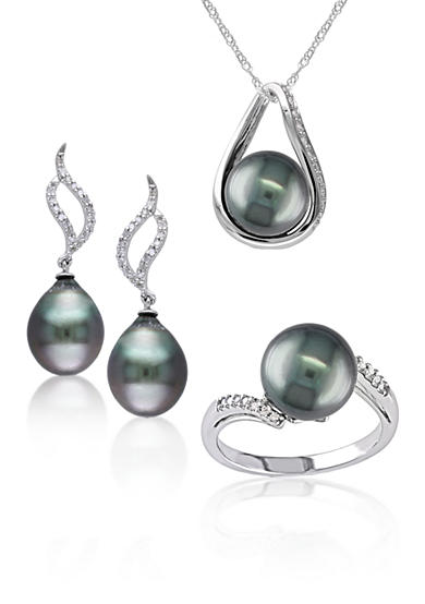 belk co tahitian cultured pearls fine jewelry