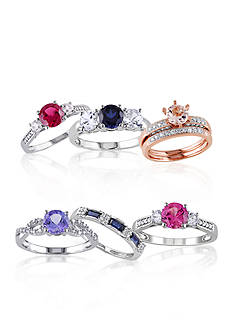 Belk & Co. Gemstone Bridal Fine Jewelry Collection