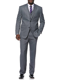 Classic Fit Travel Intelligence Sharkskin Suit Separate