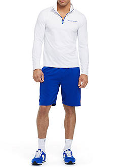 Polo Sport Stretch-Jersey Pullover & All-Sport Athletic Short