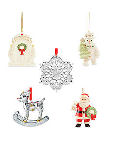 Lenox® Christmas Annual 2015 Ornament Collection