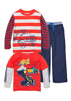 J Khaki™ Mix & Match Football & Trucks Collection Boys 4-7