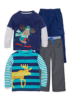 J Khaki™ Mix & Match Moose Collection Boys 4-7