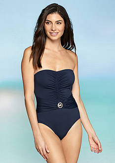 Essentials Logo Ring Bandeau One Piece Collection