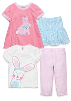 J Khaki™ Mix & Match Bunny Collection Toddler Girls