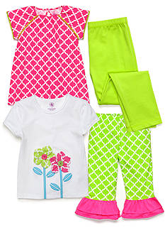 J Khaki™ Mix & Match Trellis Collection Toddler Girls