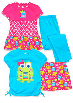 J Khaki™ Mix & Match Frog Collection Toddler Girls