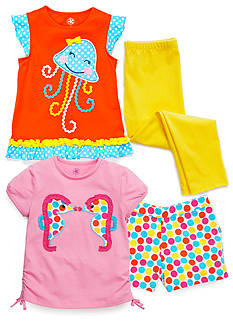 J Khaki™ Mix & Match Dots Collection Toddler Girls