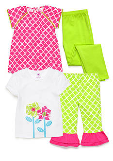 J Khaki™ Mix & Match Trellis Collection Girls 4-6x