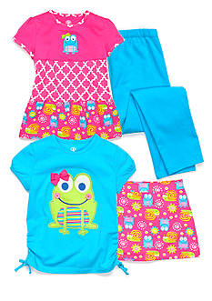 J Khaki™ Mix & Match Frog Collection Girls 4-6x