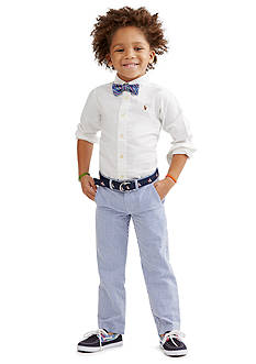 Ralph Lauren Childrenswear Preppy Seersucker Collection Boys 4-7