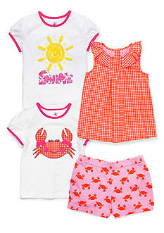 J Khaki™ Mix & Match Crab Collection Girls 4-6x