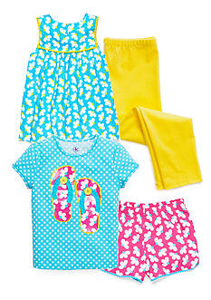 J Khaki™ Mix & Match Beach Collection Girls 4-6x
