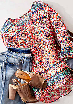As Seen On Instagram- Pretty Patterned Tops