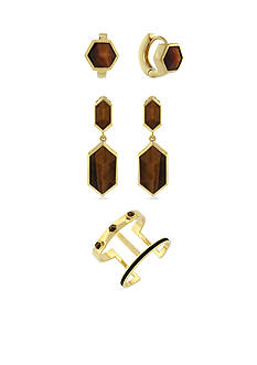 Vince Camuto Tigers Eye Jewelry Collection