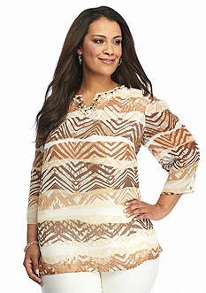 Alfred Dunner Plus African Safari Collection