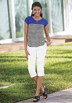 New Directions® Petite Stripe Collection
