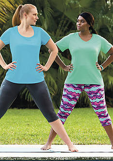 be inspired® Plus Size Spring Fit Collection