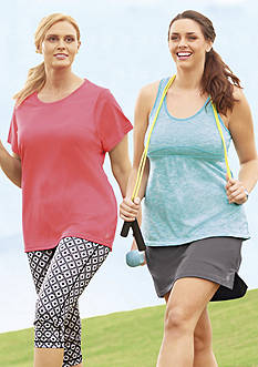 be inspired® Plus Size Spring into Fitness Collection
