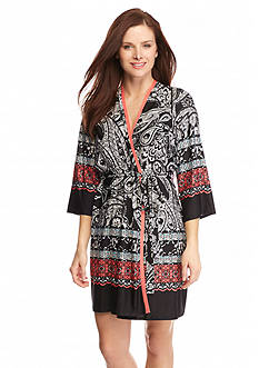 New Directions® Intimates Seven Seas Print Chemise & Robe