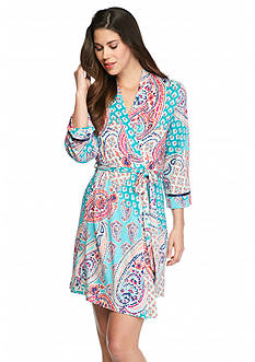 New Directions® Intimates Bohemian Paisley Chemise & Robe