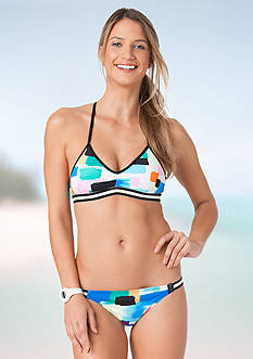 ANNE COLE LOCKER® Snowcone Bikini Bra and Tabside Hipster Collection