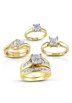 Yellow Gold Bridal Collection