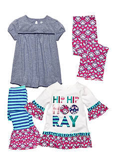 J Khaki™ Mix & Match Ruffle Collection Toddler Girls