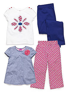 J Khaki™ Mix & Match Flower Collection Girls 4-6x
