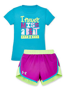 Under Armour® Never Miss Collection Girls 4-6x
