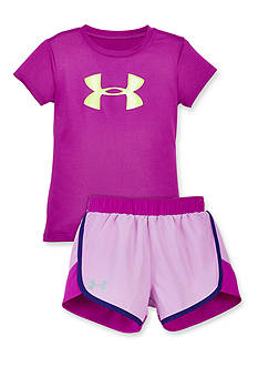Under Armour® Fast Lane Collection Girls 4-6x