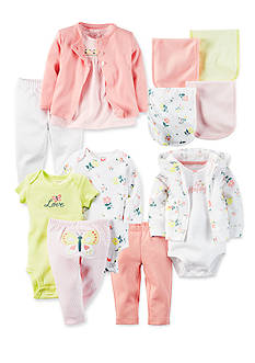 Carter's® Beautiful Butterfly Little Baby Basics Bundle