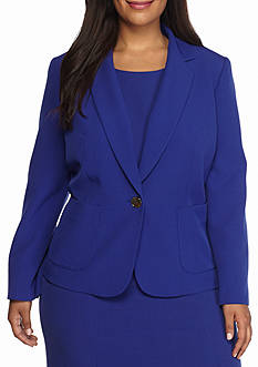 Kasper Plus Size Marine Blue Collection