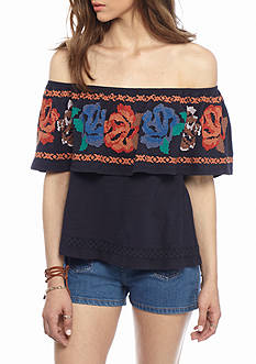 Free People Show Some Shoulder Top Collection