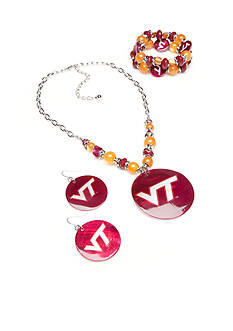 accessory PLAYS® Virginia Tech Hokies Jewelry Collection