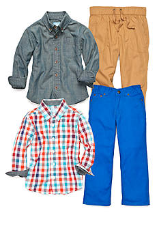 J Khaki™ Mix & Match Playtime Collection Toddler Boys