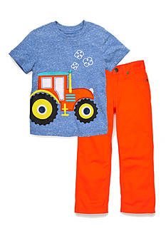 J Khaki™ Mix & Match Tractor Collection Toddler Boys