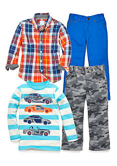 J Khaki™ Mix & Match Cars Collection Boys 4-7