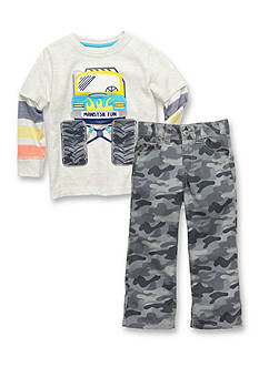 J Khaki™ Mix & Match Monster Truck Collection Toddler Boys