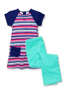 J Khaki™ Mix & Match Stripe Collection Toddler Girls