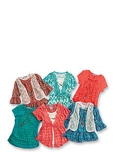 Crochet & Lace Tops Collection Girls 7-16
