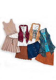 Suede Statement Collection Girls 7-16